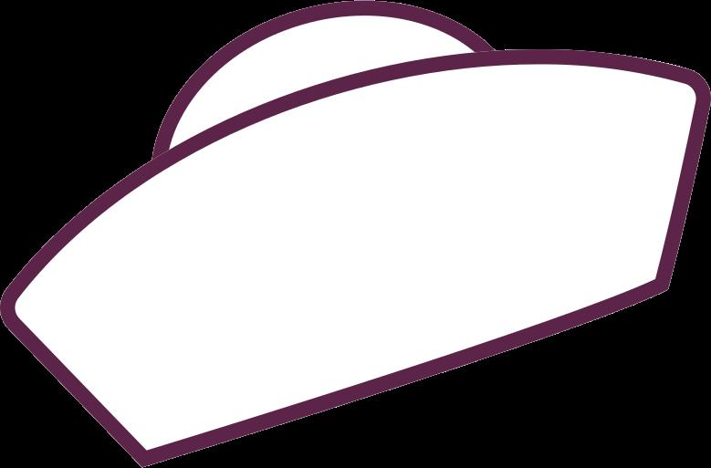 sailor's cap Clipart illustration in PNG, SVG