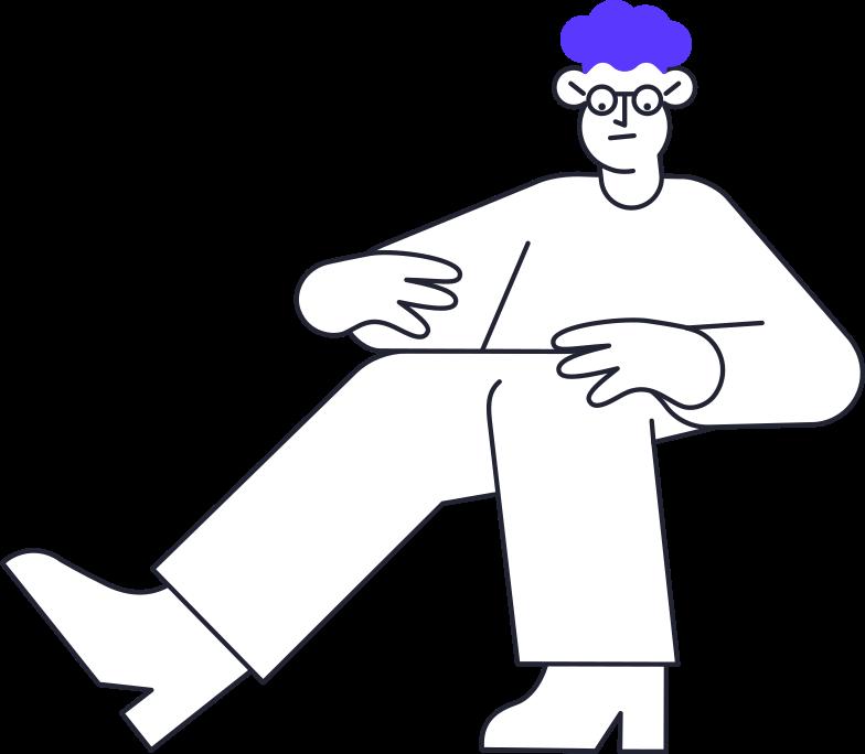 education  man Clipart illustration in PNG, SVG