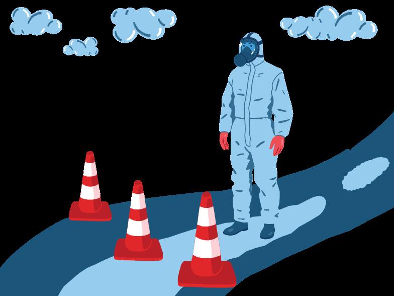 Danger zone Clipart illustration in PNG, SVG
