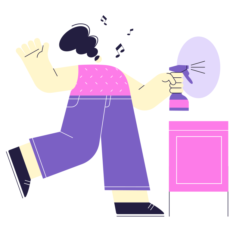 style Cleaning day Vector images in PNG and SVG | Icons8 Illustrations