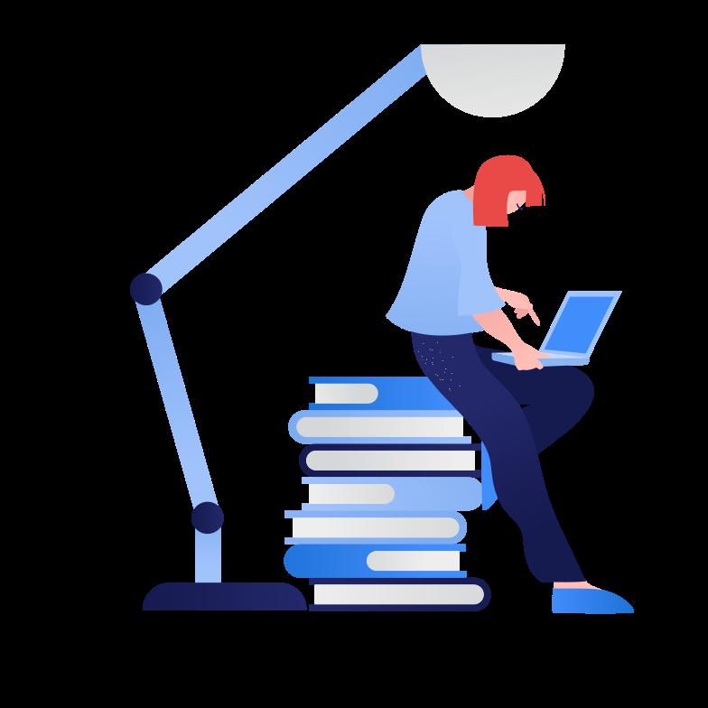 Homework Clipart illustration in PNG, SVG