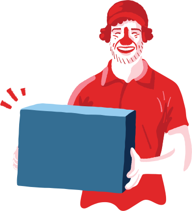 style delivery man images in PNG and SVG | Icons8 Illustrations