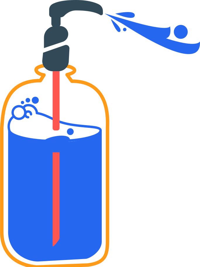 antiseptic and spray Clipart illustration in PNG, SVG
