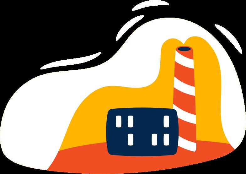 Ilustração de clipart de factory em PNG e SVG