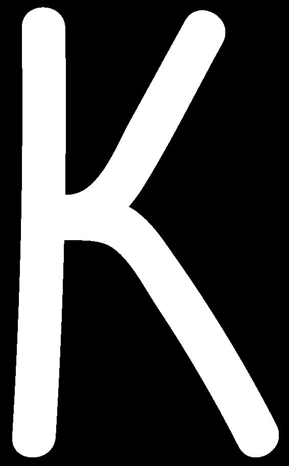 k white Clipart illustration in PNG, SVG