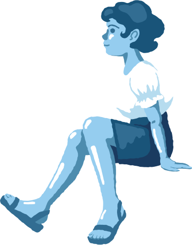 style girl sitting profile images in PNG and SVG   Icons8 Illustrations