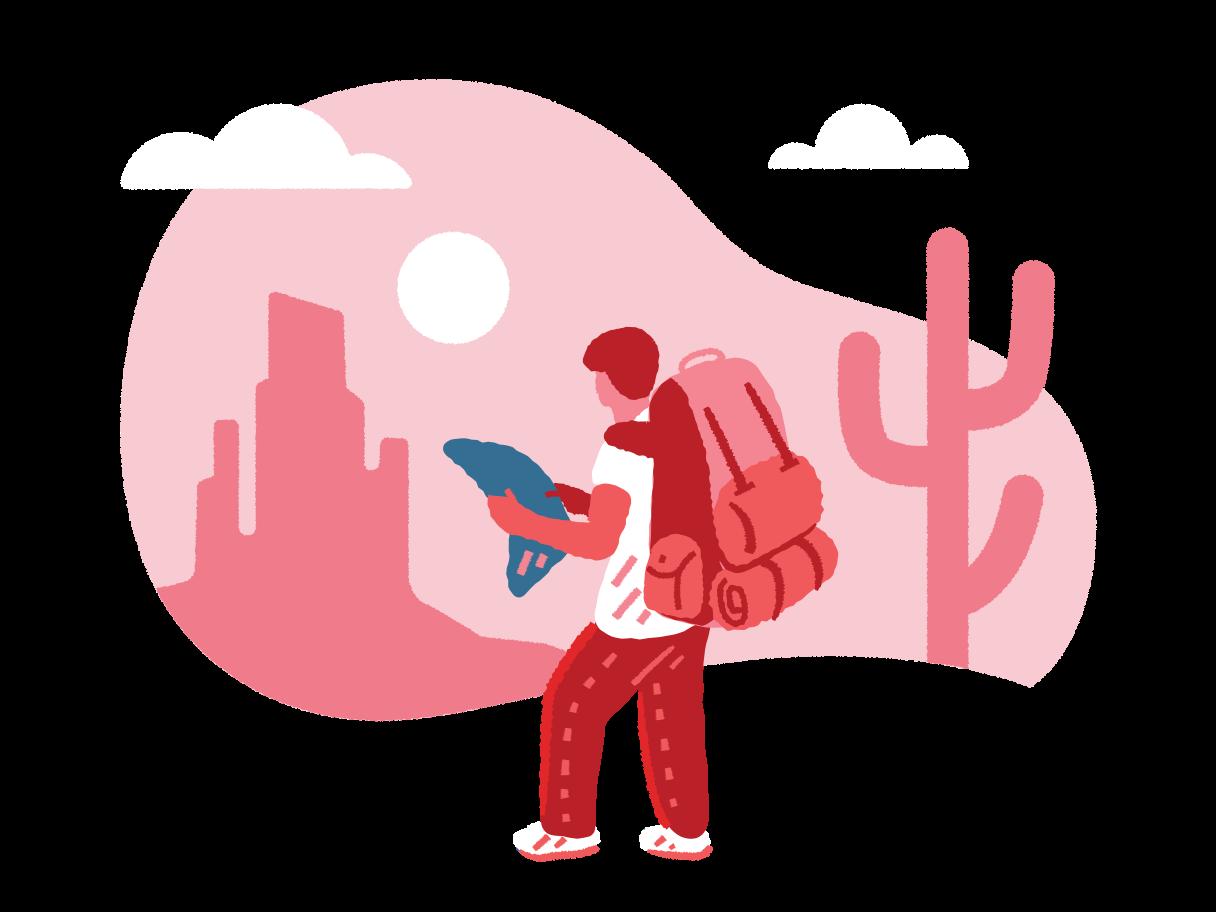 Traveller Clipart illustration in PNG, SVG