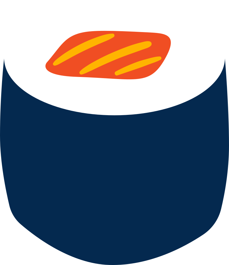 sushi Clipart-Grafik als PNG, SVG