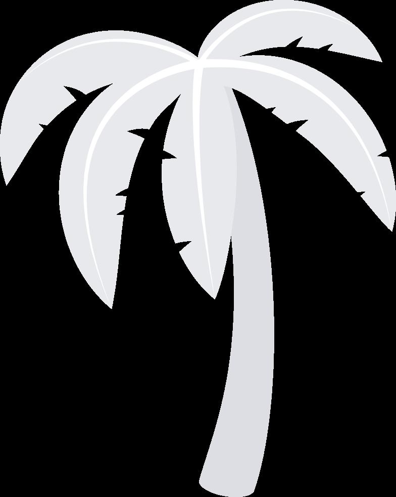 Ilustración de clipart de palma en PNG, SVG