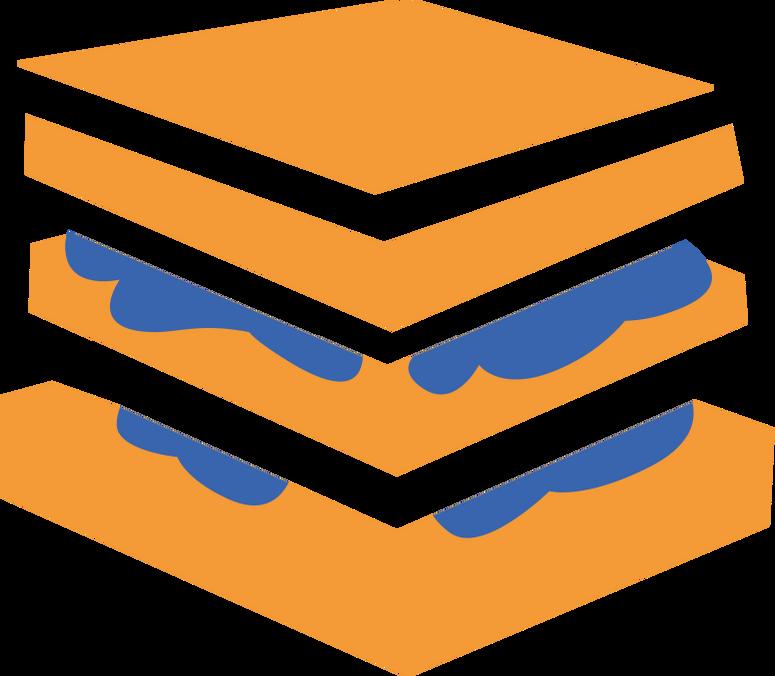 e sandwich Clipart illustration in PNG, SVG