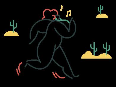 Иллюстрация Здоровый образ жизни в стиле  в PNG и SVG   Icons8 Иллюстрации
