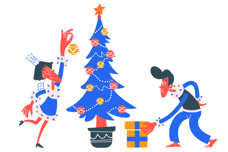 style Preparing for Christmas Vector images in PNG and SVG | Icons8 Illustrations