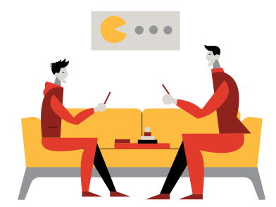 style Evening of board games images in PNG and SVG | Icons8 Illustrations