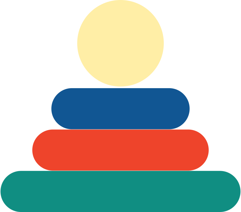pyramid toy Clipart illustration in PNG, SVG