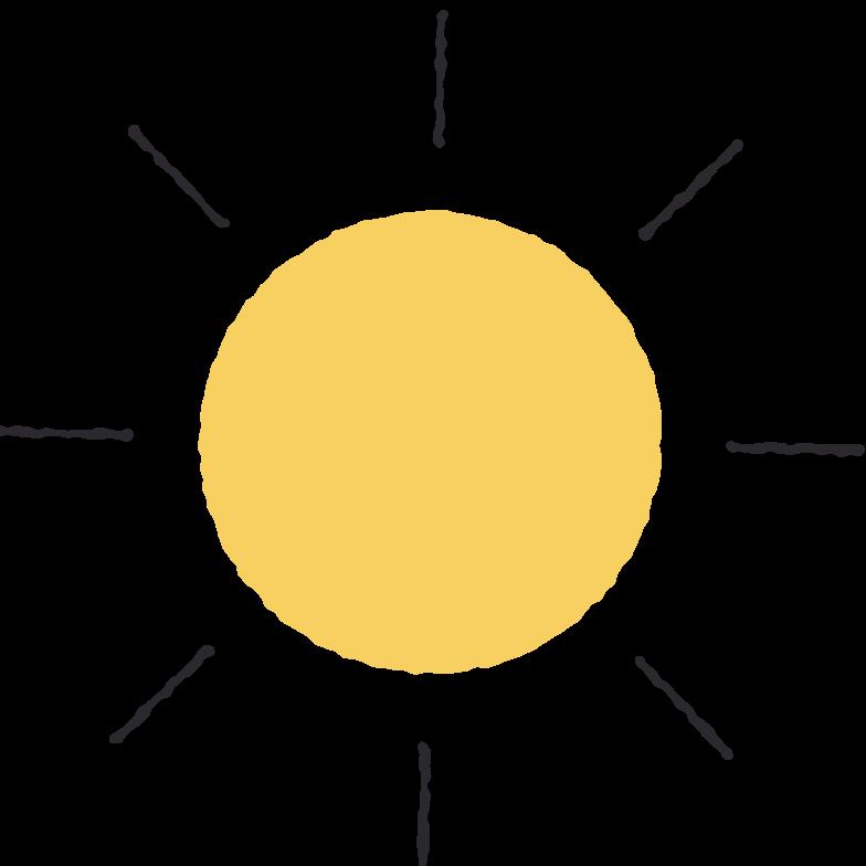 PNGとSVGの  スタイルの 太陽 ベクターイメージ | Icons8 イラスト