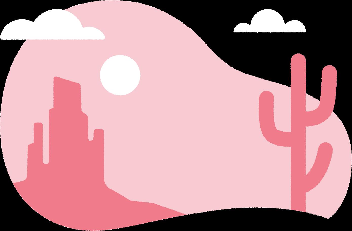 desert Clipart illustration in PNG, SVG