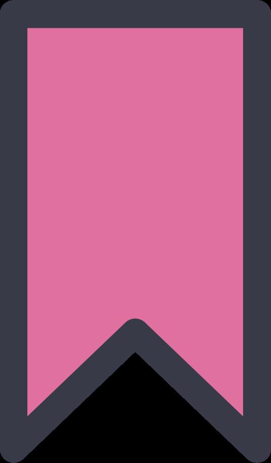 bookmark Clipart illustration in PNG, SVG
