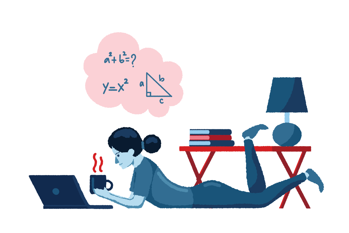style Studying from home Vector images in PNG and SVG | Icons8 Illustrations