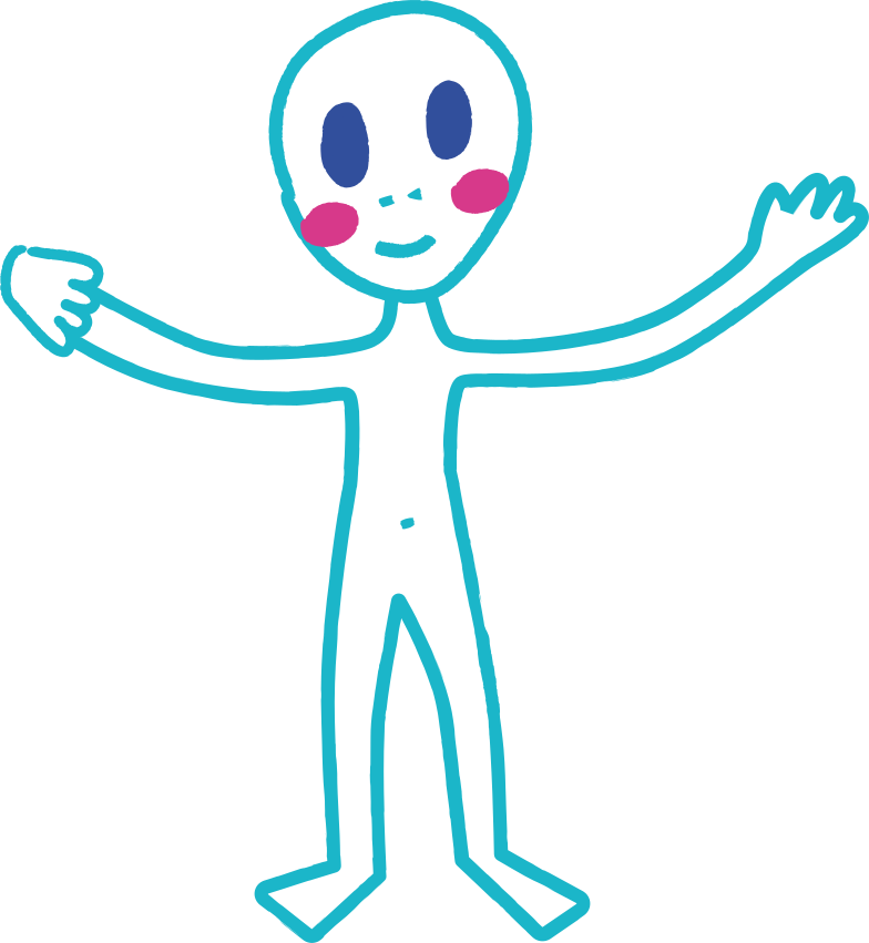 ufo man Clipart illustration in PNG, SVG