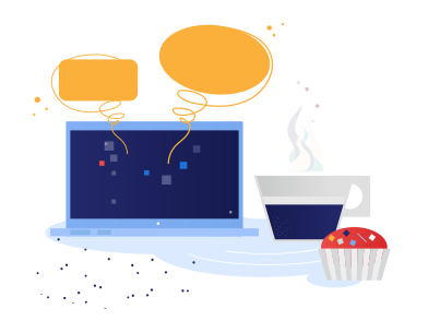 style Chatting in cafe images in PNG and SVG | Icons8 Illustrations