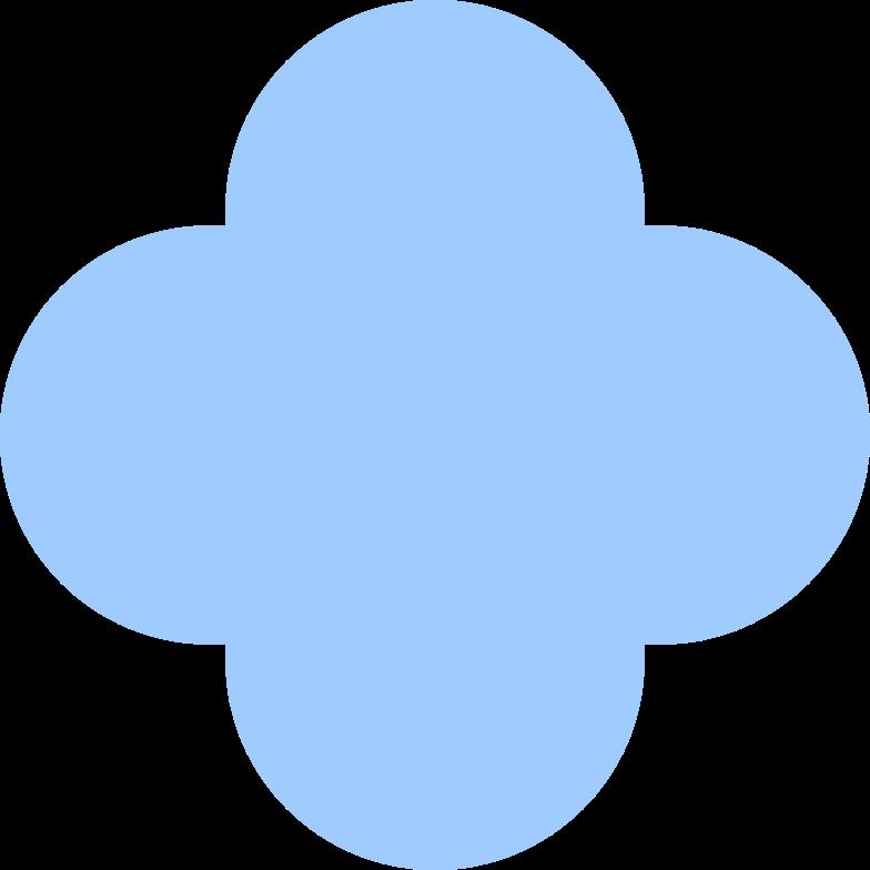 quatrefoil-light-blue Clipart illustration in PNG, SVG