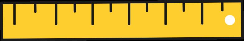 ruler Clipart illustration in PNG, SVG