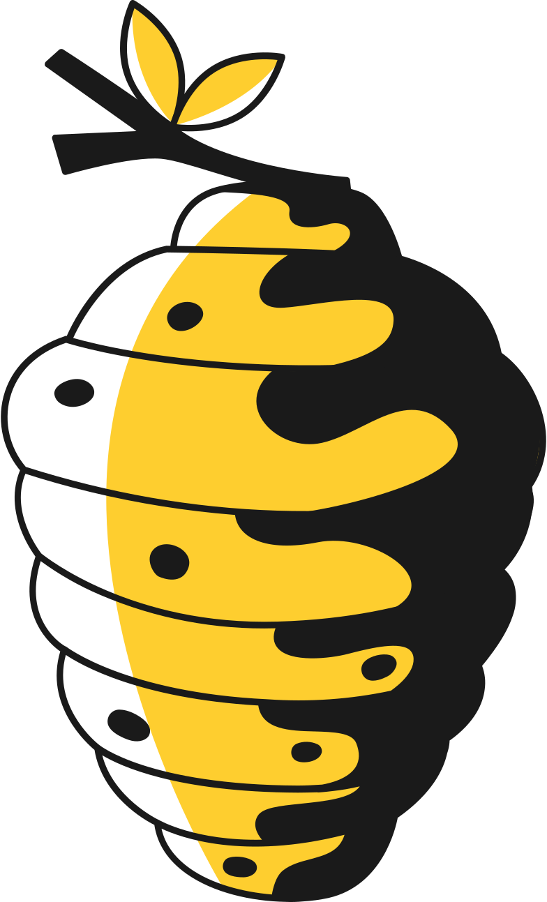 beehive Clipart illustration in PNG, SVG