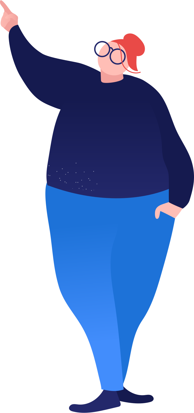style fat woman showing Vector images in PNG and SVG | Icons8 Illustrations
