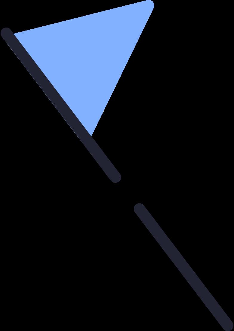 Ilustración de clipart de bandera en PNG, SVG