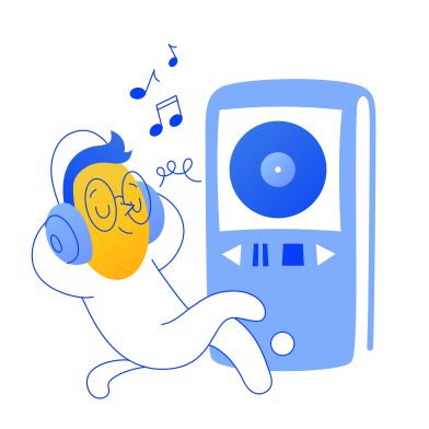 style Music player images in PNG and SVG | Icons8 Illustrations