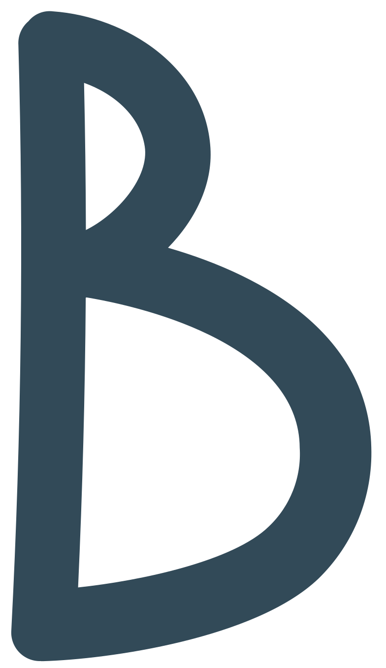 b dark blue Clipart illustration in PNG, SVG