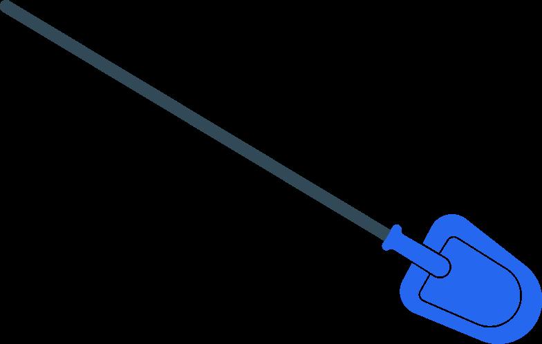 Pá Clipart illustration in PNG, SVG