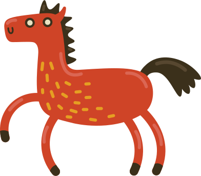 Иллюстрация лошадь в стиле  в PNG и SVG | Icons8 Иллюстрации