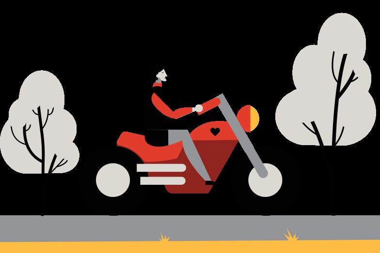 Vektorgrafik im  Stil Biker als PNG und SVG | Icons8 Grafiken