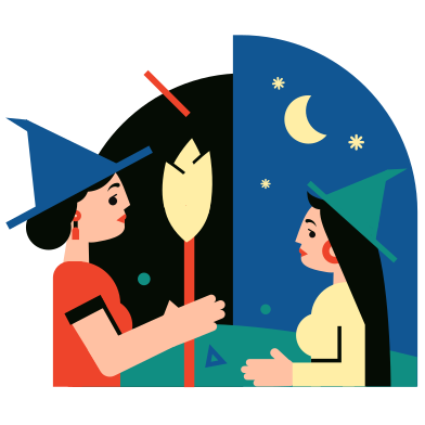 style School of Magicians images in PNG and SVG | Icons8 Illustrations