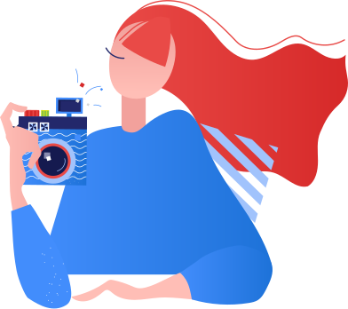 style woman photographer images in PNG and SVG | Icons8 Illustrations