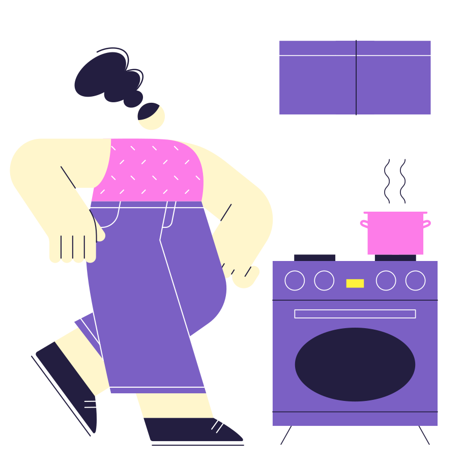 Home Cooking Clipart illustration in PNG, SVG