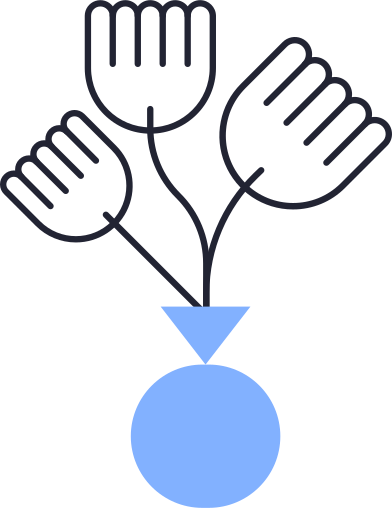 style flowers in vase images in PNG and SVG | Icons8 Illustrations