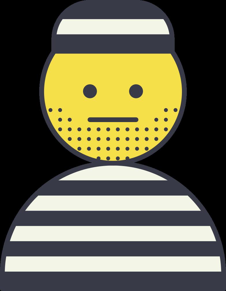 prisoneer Clipart illustration in PNG, SVG