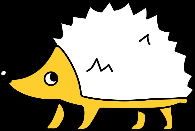 hedgehog Clipart illustration in PNG, SVG