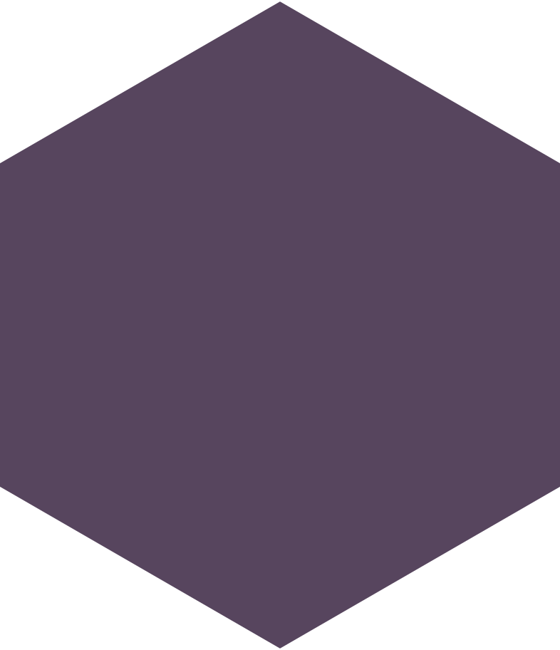 hexagon purple Clipart illustration in PNG, SVG