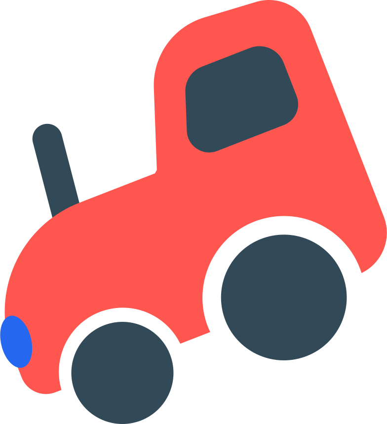 tractor Clipart illustration in PNG, SVG