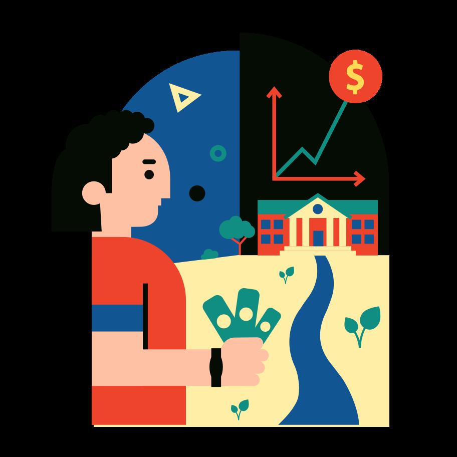Crescita valutaria Illustrazione clipart in PNG, SVG