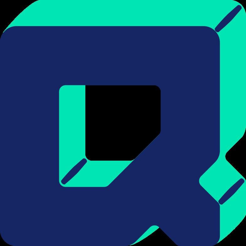 letter q Clipart illustration in PNG, SVG