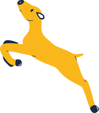 style deer calm jumping images in PNG and SVG | Icons8 Illustrations