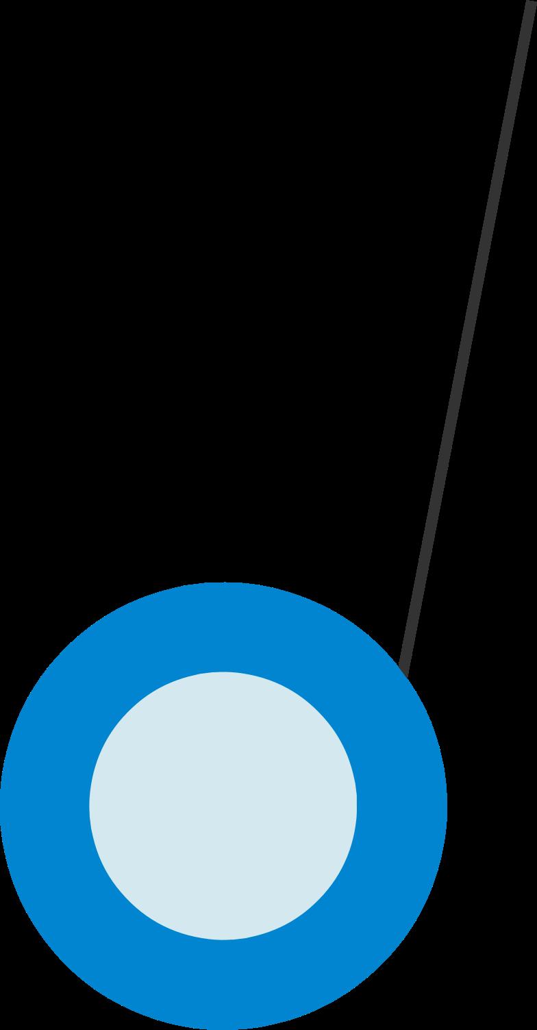 yo-yo Clipart illustration in PNG, SVG