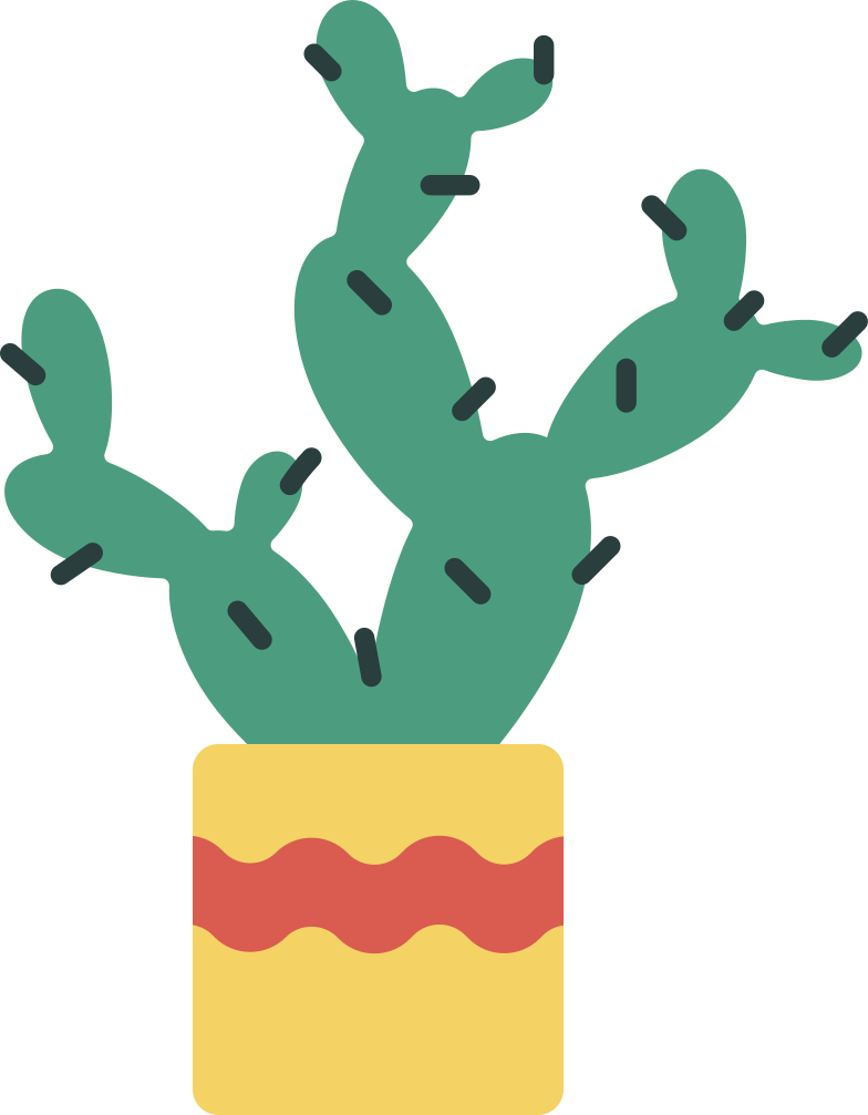 style cactus in a pot Vector images in PNG and SVG | Icons8 Illustrations