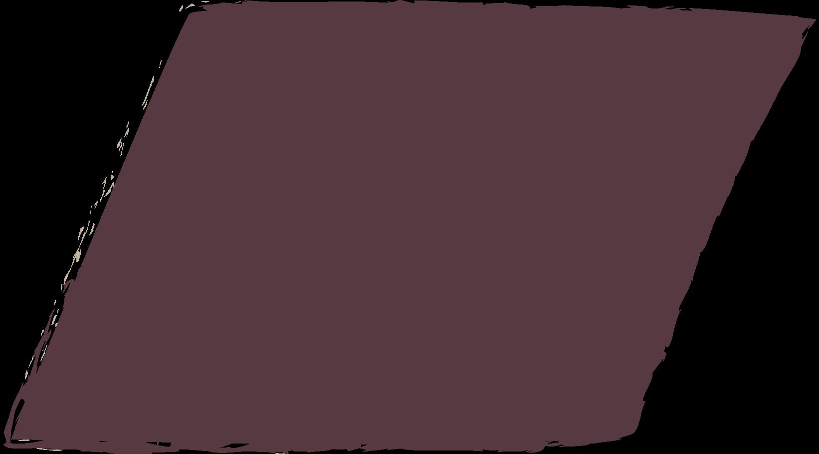 parallelogram-dark-brown Clipart illustration in PNG, SVG