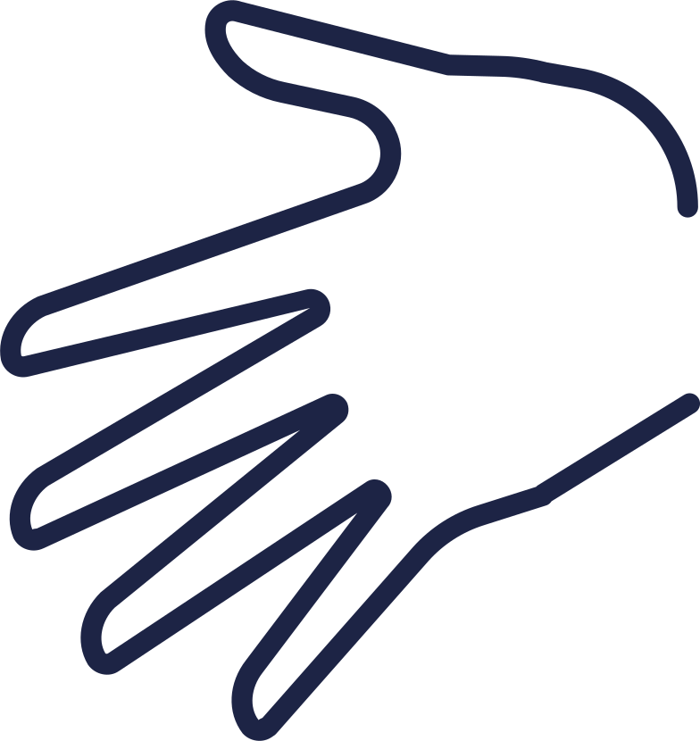 hand palm Clipart illustration in PNG, SVG