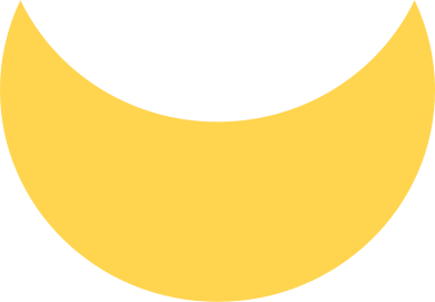 style crescent yellow images in PNG and SVG | Icons8 Illustrations